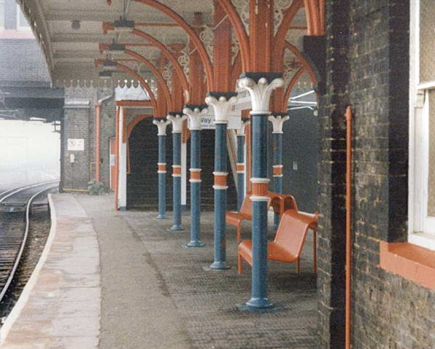 [Image of Primrose Hill Station, c1992 ]