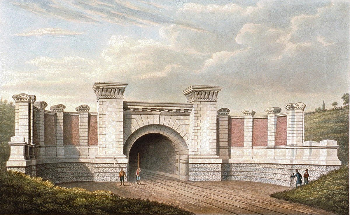[Image of East Portal of Primrose Hill Tunnel]