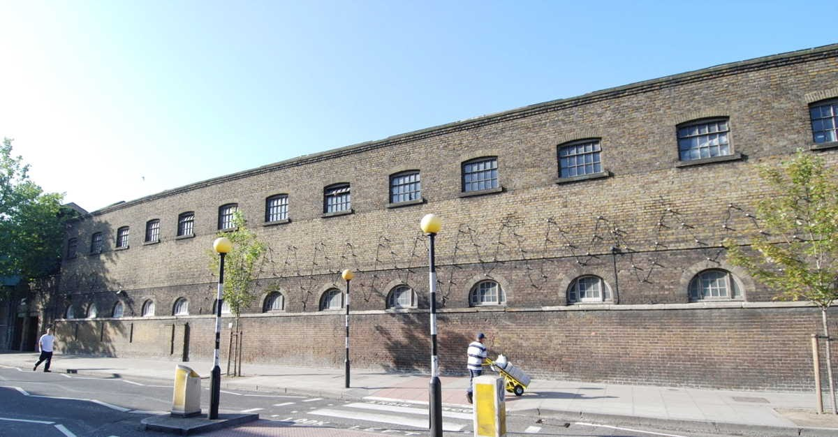 [Image of The Stables: Chalk Farm Road façade]