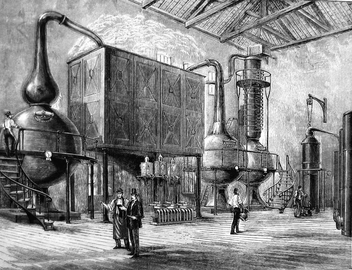 [Image of Distillery]