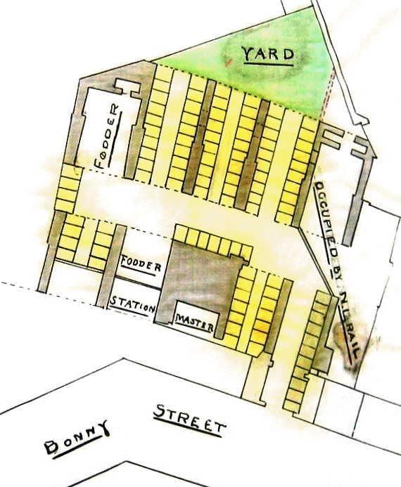 [Image of Bonny Street stables]