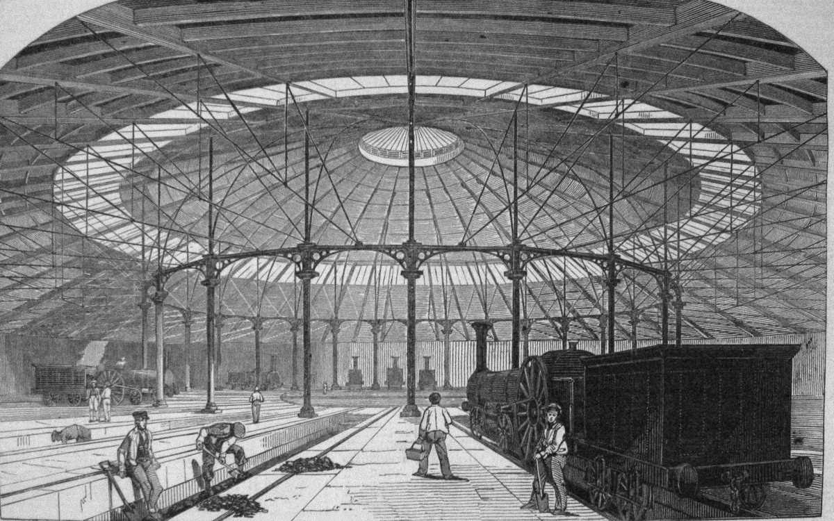 [Image of The Roundhouse c1847]